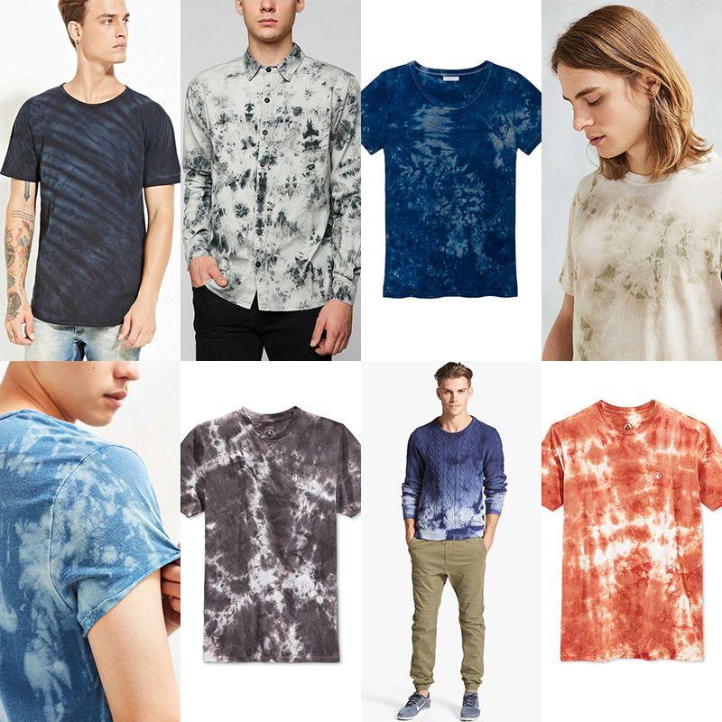 Men's New Tie-Dye Fashion