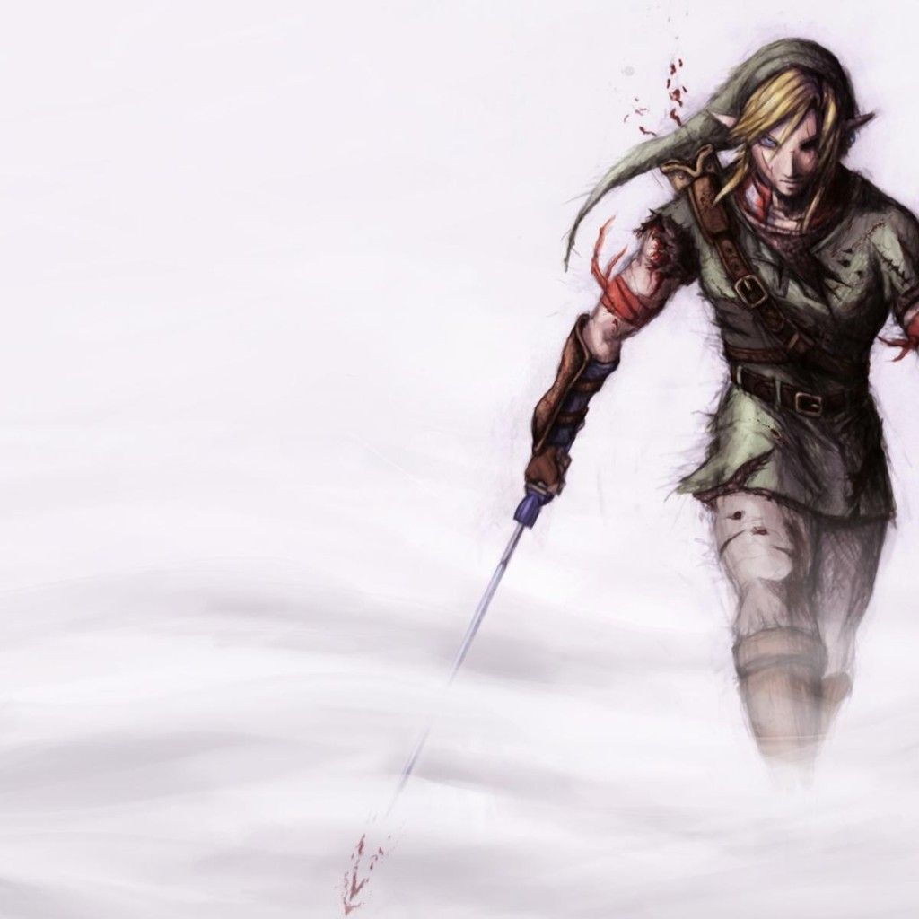 Badass Wallpapers: Legend Of Zelda - Artistic Badass Link Wallpaper