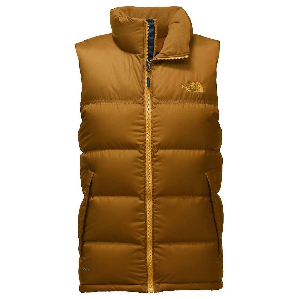 The North Face Men's Nuptse Vest XL Golden Brown