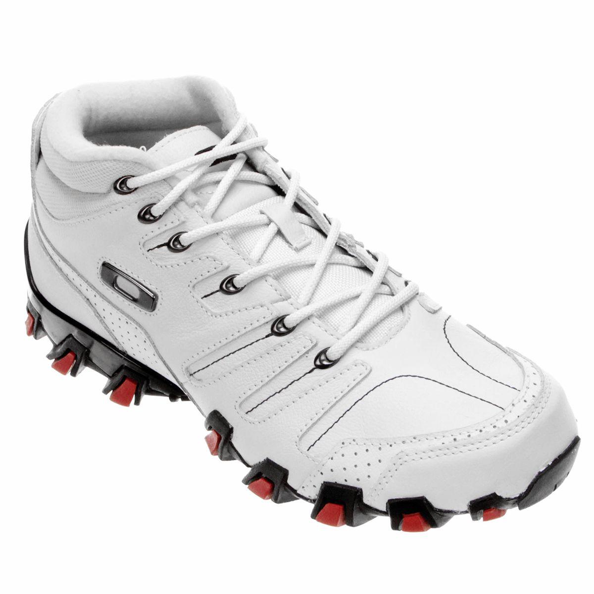 c172ff7661740 Tênis Oakley Hammer - Cinza+Vermelho   man k. em 2019   Hype shoes, Shoes e  Oakley shoes