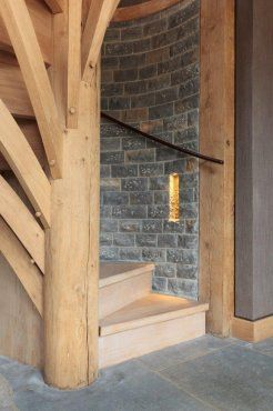 Best This Is A Stunning Oak Spiral Staircase With Tree Like 400 x 300