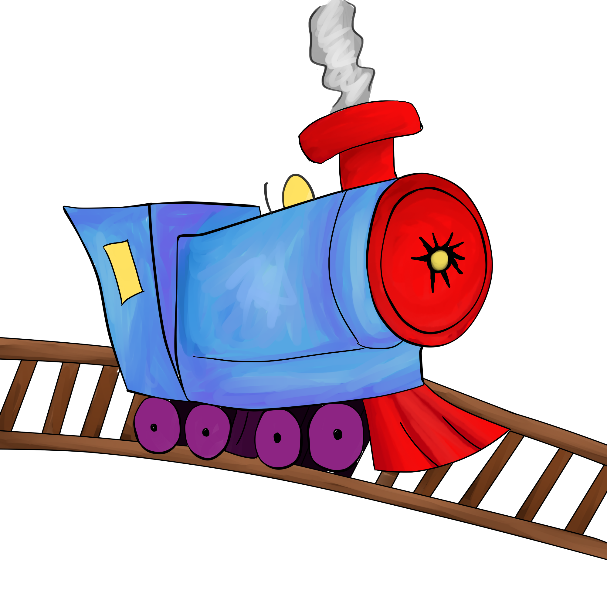 Toy Train Tracks Clipart Childrens Toy Wallpaper Toy Train Train Cartoon Childrens Toy
