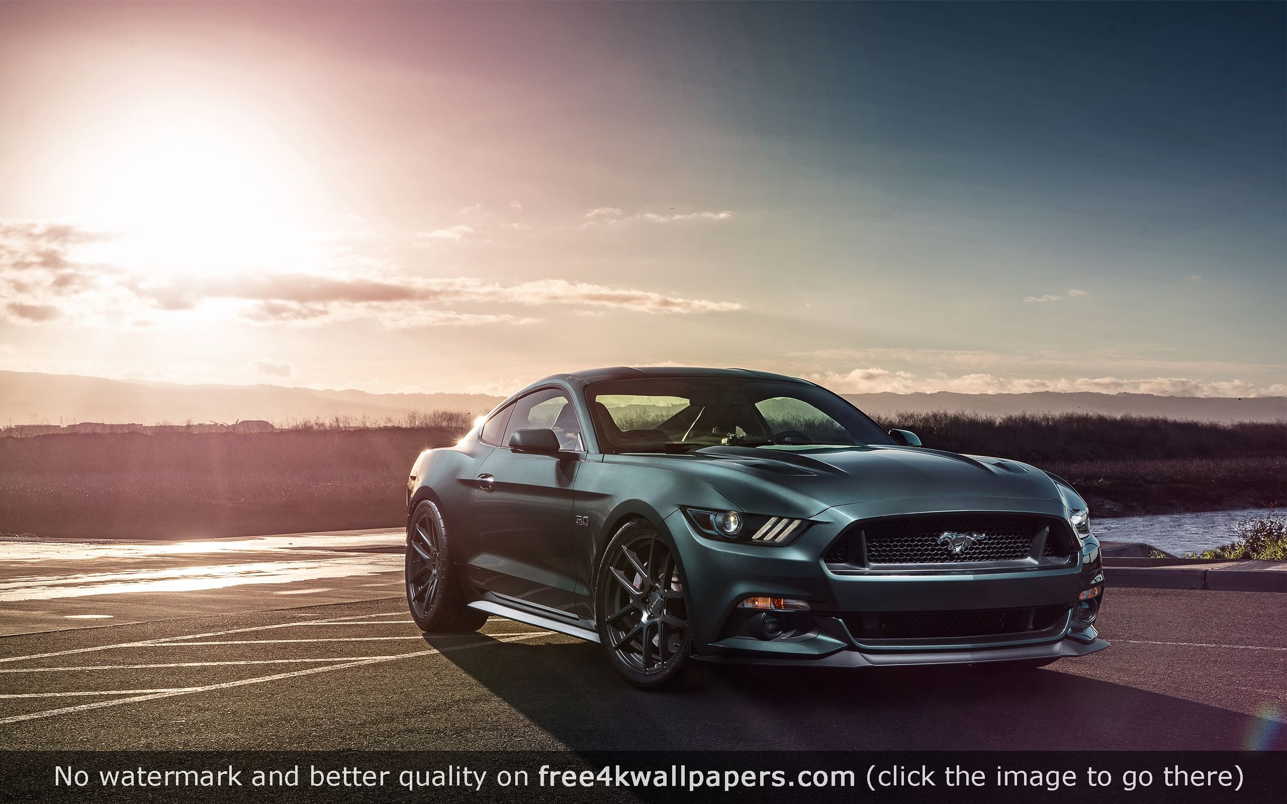 Ford Mustang GT Velgen Wheels wallpaper Ford mustang gt