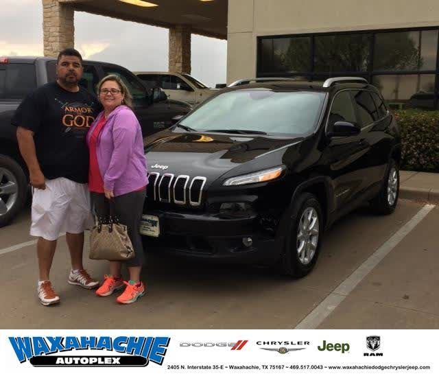 Congratulations Rodolfo On Your Jeep Cherokee From Chance Massey