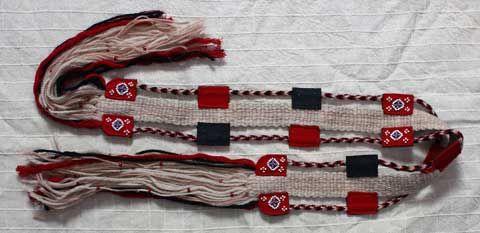 Роль и значение традиционного пояса в саамской культуре