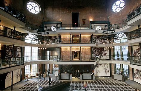 Boston Jail Transforms Into Luxury Hotel With Restaurant Called Clink