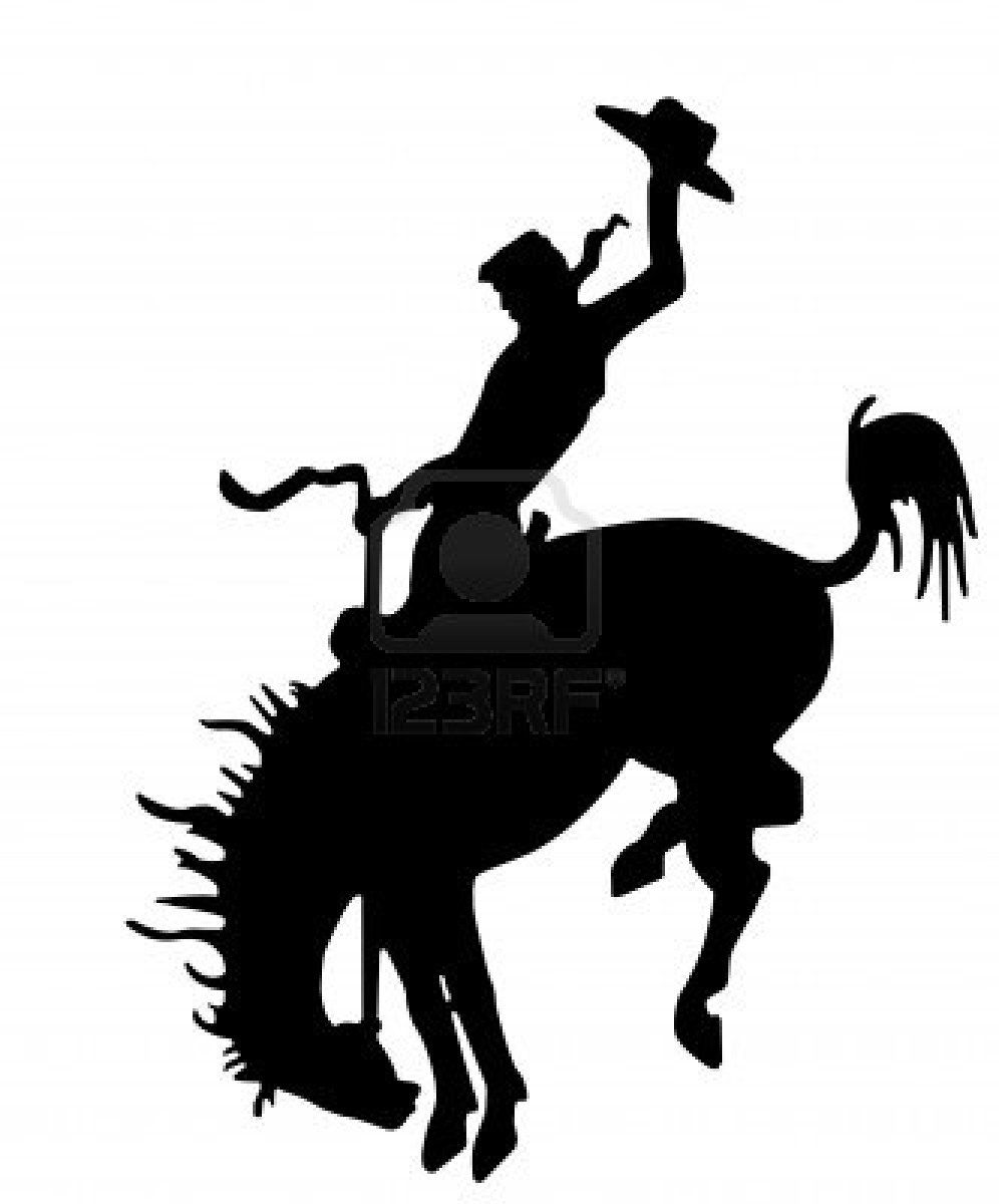 Cowboy Silhouette Clip Art | These are some of Clip Art Silhouette ...