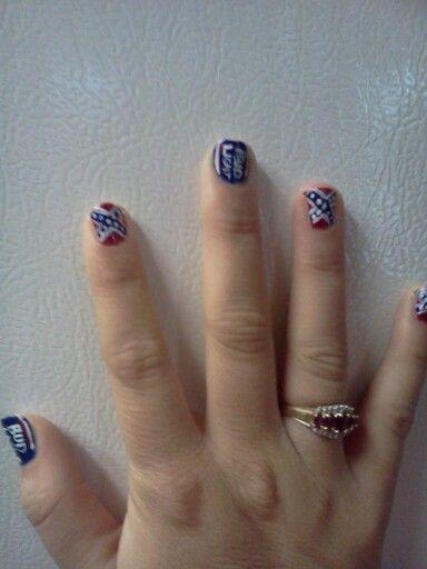 redneck nail art