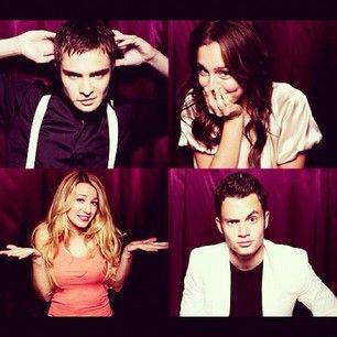 Chuck, Blair, Serena, Dan.