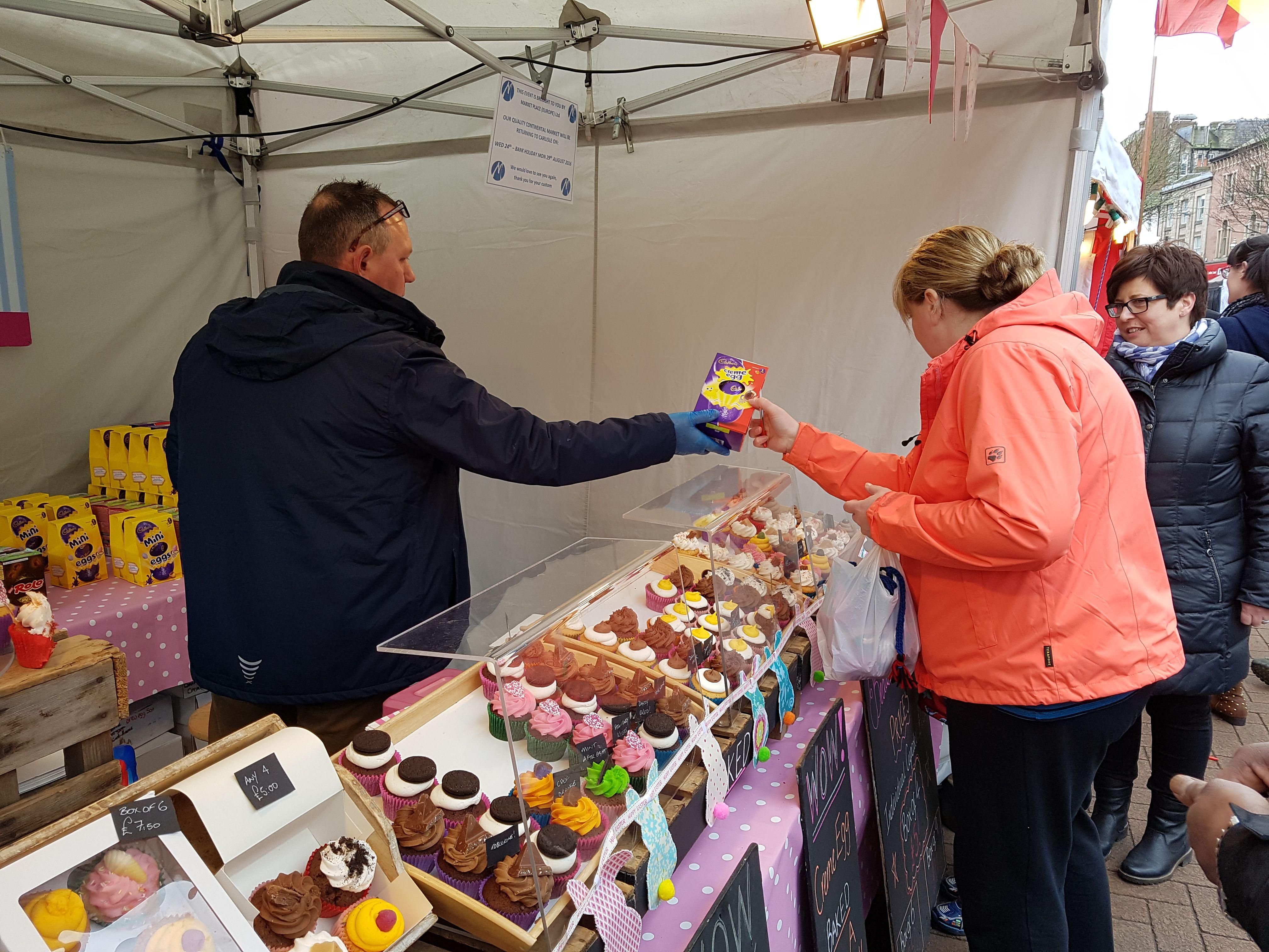 Easter egg hunt 2016 carlisle international market 24th
