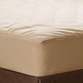 Amazon Com Magnolia Organics Barrier Cloth Mattress Cover Full Natural Home Amp Kitchen Waterproof Mattress Pad Mattress Pad Waterproof Mattress
