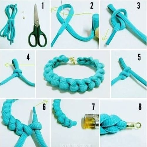 Cara Membuat Gelang Dari Tali Sepatu Mudah Dan Lengkap ...