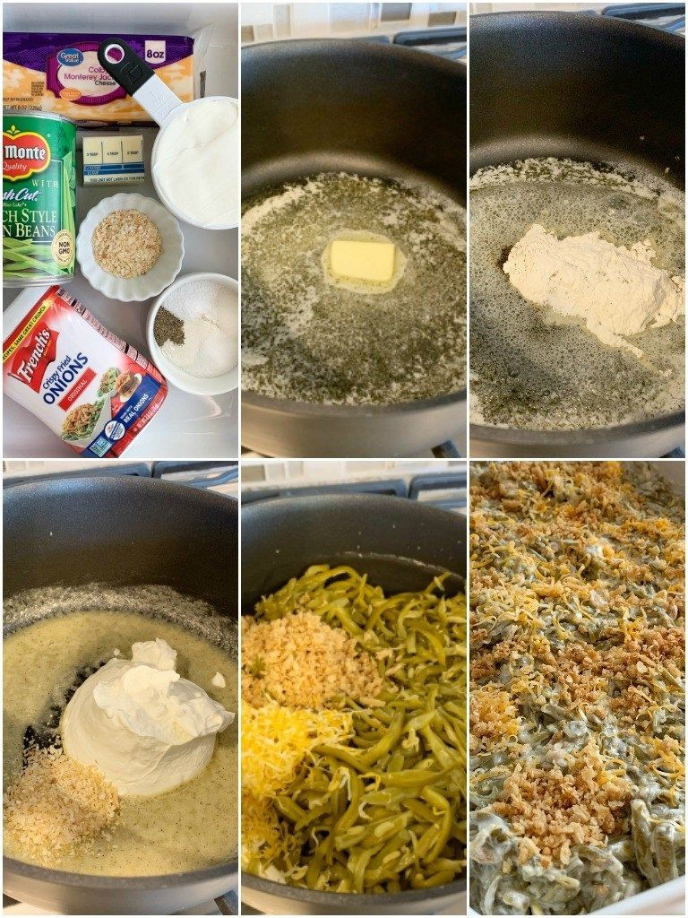 Green bean casserole recipe. Canned green beans, cheese, french fried onions, and a few seasonings is all you need for the best green bean casserole. This green bean casserole has no mushrooms and no creamed soups in it! #greenbean Green bean casserole recipe. Canned green beans, cheese, french fried onions, and a few seasonings is all you need for the best green bean casserole. This green bean casserole has no mushrooms and no creamed soups in it! #greenbeancasserole