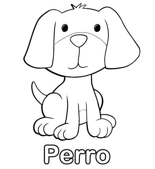 Perro Dibujo Facil Dibujar Un Perro Tierno Dibujo Pinterest