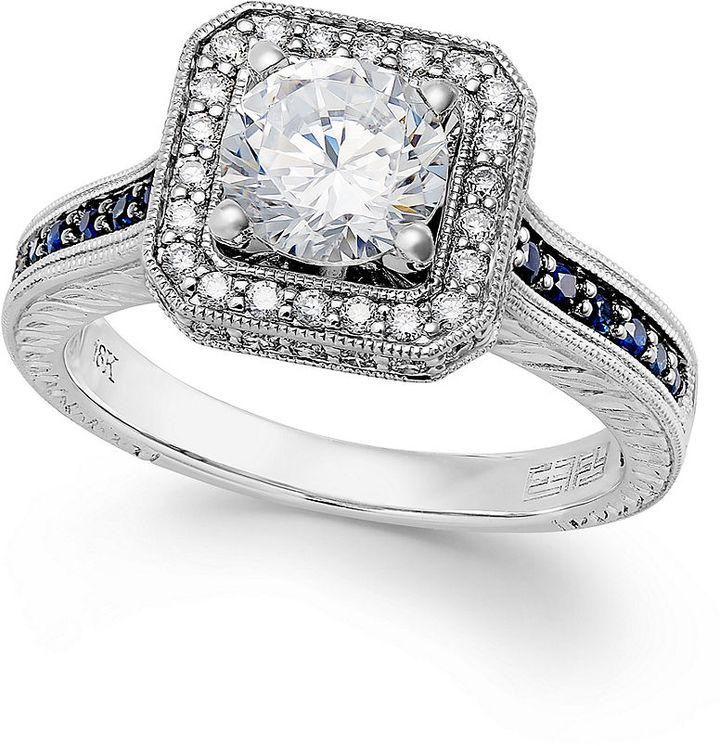 Wedding Jewellery Rosamariagfrangini Vintage Effy Bridal Certified Diamond 1 3