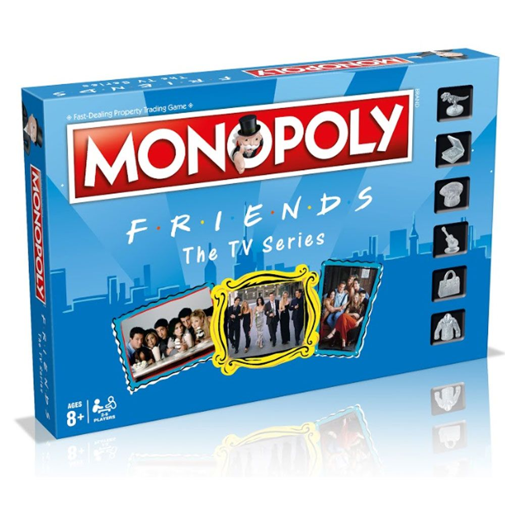 Friends monopoly monopoly and monopoly board