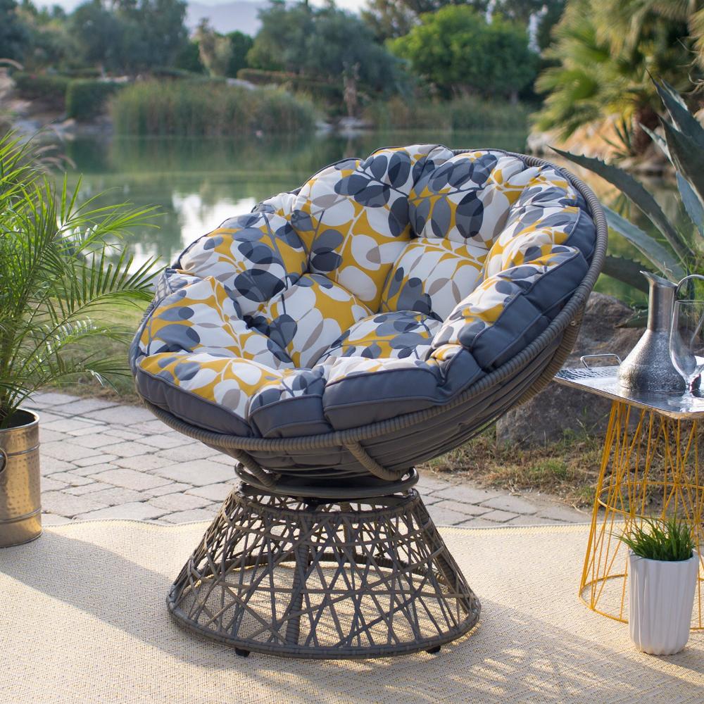 Patio Garden In 2020 Outdoor Papasan Chair Papasan Chair