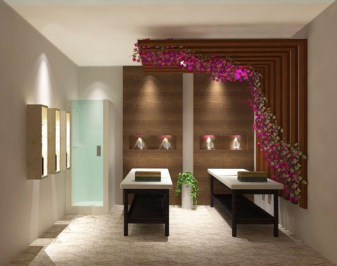 massage room with shower spa images in 2019 massage room decor rh pinterest com massage room decorating ideas massage room decorating