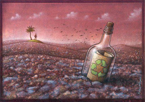 40 ilustraciones que te harán reflexionar - EcoSiglos