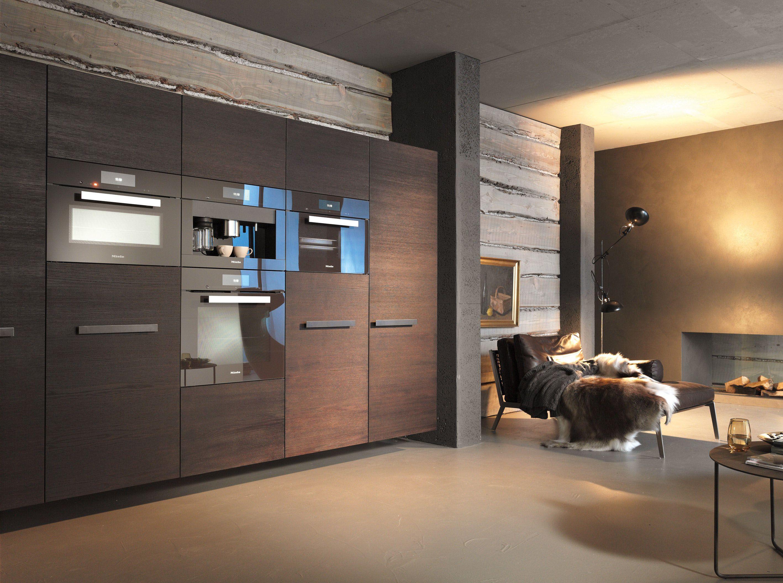 Miele Inbouwapparatuur Ovens Contourline Obsidiaanzwart  S Glamorous Miele Kitchens Design Decorating Inspiration