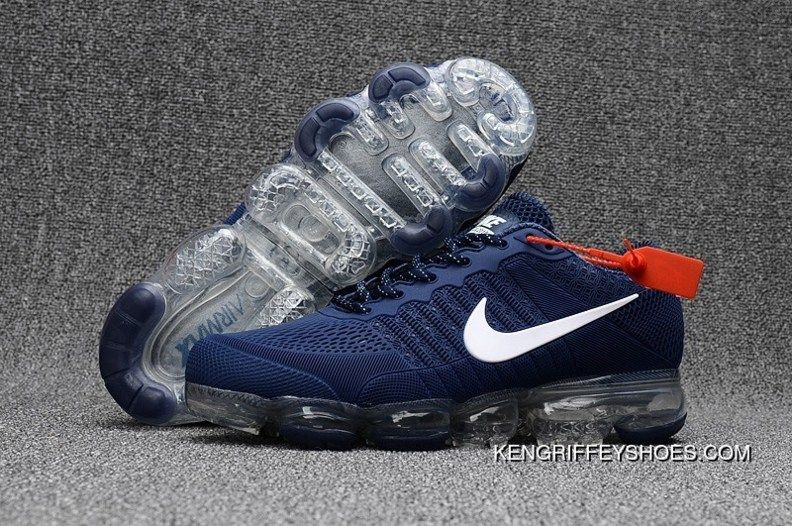 promo code f05a5 00c37 Nike Air Vapormax Flyknit 2018 Royal Blue White New Year Deals | kix ...