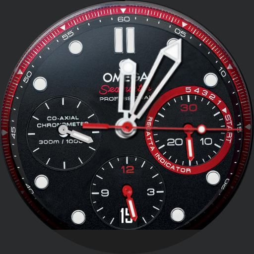 Om3ga s3amaster preview in 2019 Android watch faces