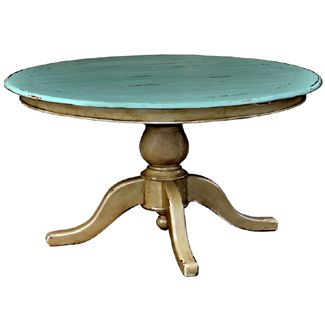 Brambles: Farmhouse 5 Feet Round Pedestal Table