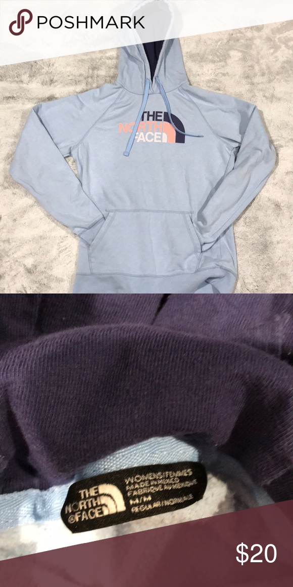 8d78b70ef North Face Hoodie women's size medium lightly worn some piling very ...