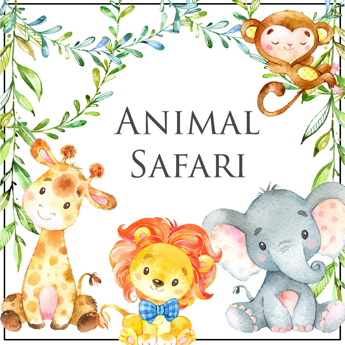 Have A Roaring Good Time With Our Animal Safari Baby