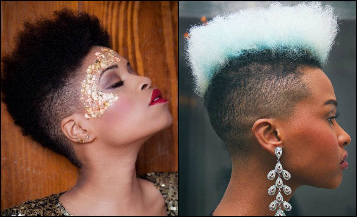 Black Women Fade Haircuts To Look Edgy And Sexy Hairstyles 2017