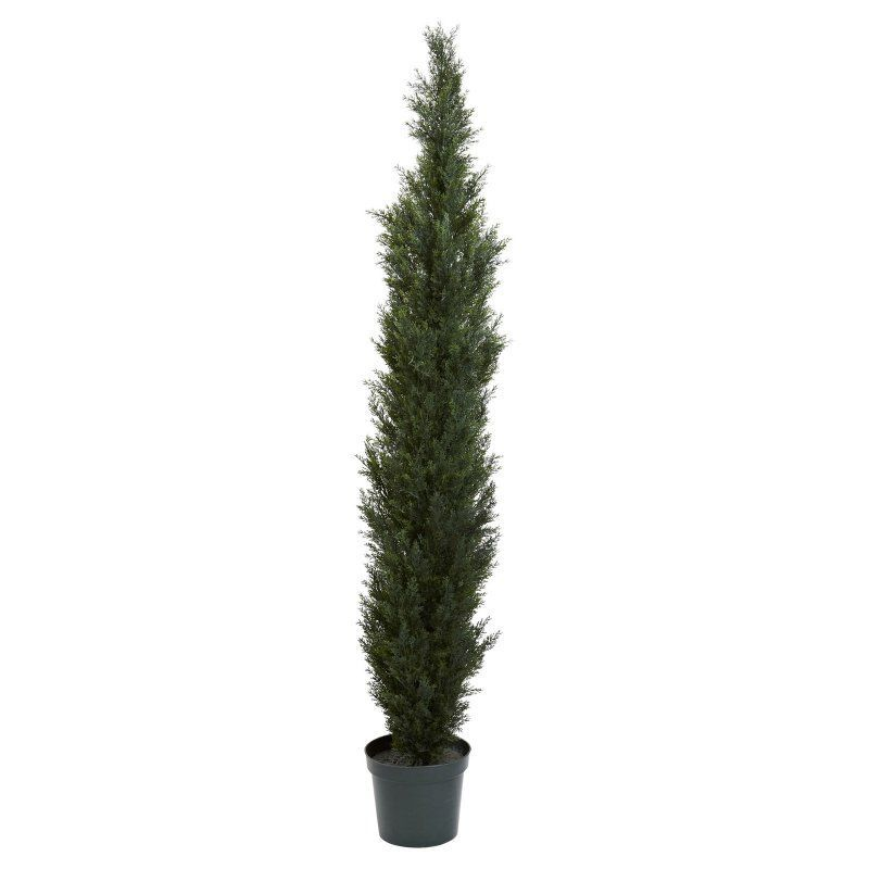 Nearly Natural Mini Cedar Pine Topiary - 54