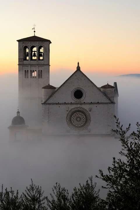 Basilica de San Francisco de Asis, Italia.