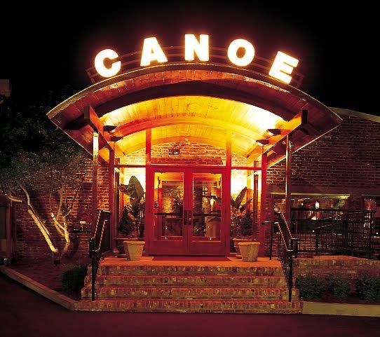 The Beautiful Entrance To Canoe Restaurant In Atlanta