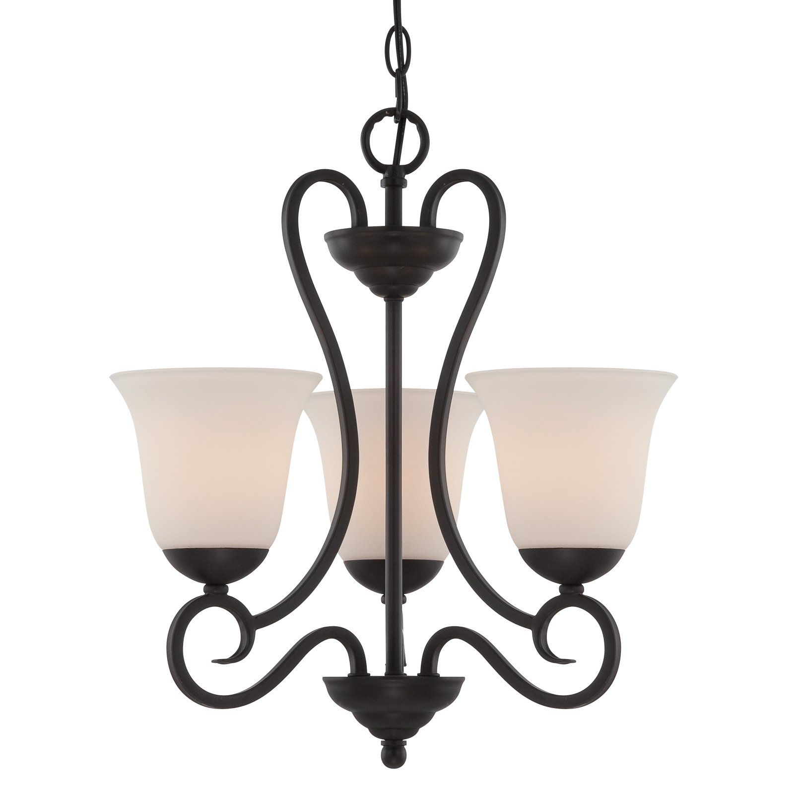 Designers Fountain 85283 Orb Addison 3 Light Chandelier