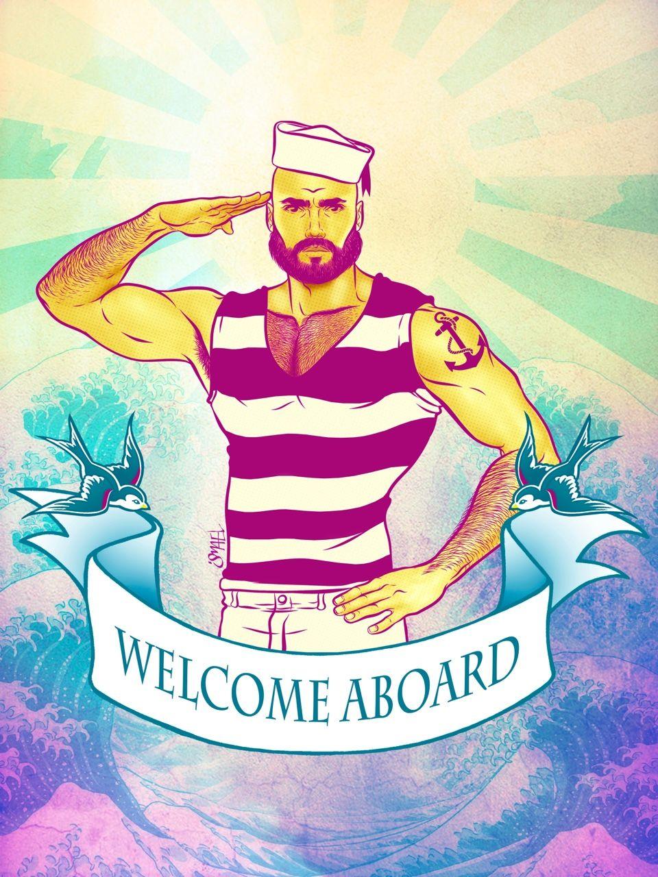 Ismaelalvarez Welcome Aboard Be Free Marbella Gay Festival