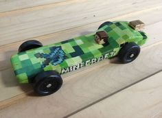 boy scout space derby designs, minecraft | Minecraft Pinewood ...