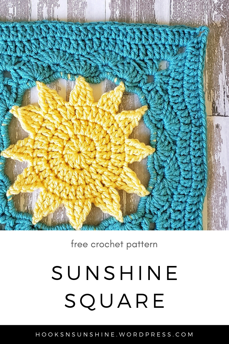 Make a Cute Sun Crochet Decoration - DIY Crafts - Guidecentral ... | 1102x735