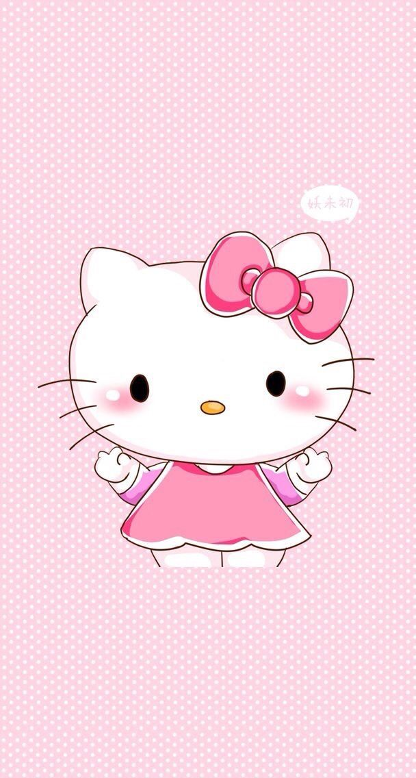 Pin By Kim Carter On Kitty Hello Kitty Backgrounds Hello Kitty Wallpaper Hello Kitty