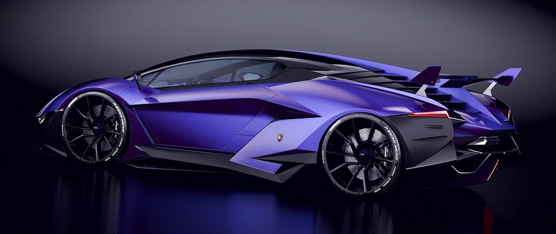 Blue Lamborghini Resonare Concept Si | JC CONCEPTS ...