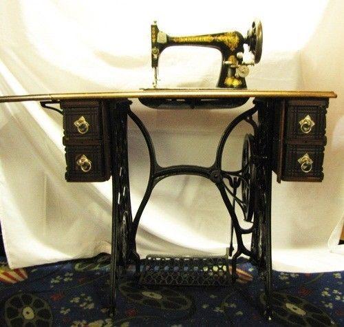 Singer Kitchens: SOLD !! 1891 SINGER VS2 FIDDLEBASE Treadle Sewing Machine