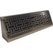 Wicker Baseboard Register Antique Brass Wicker Headboard