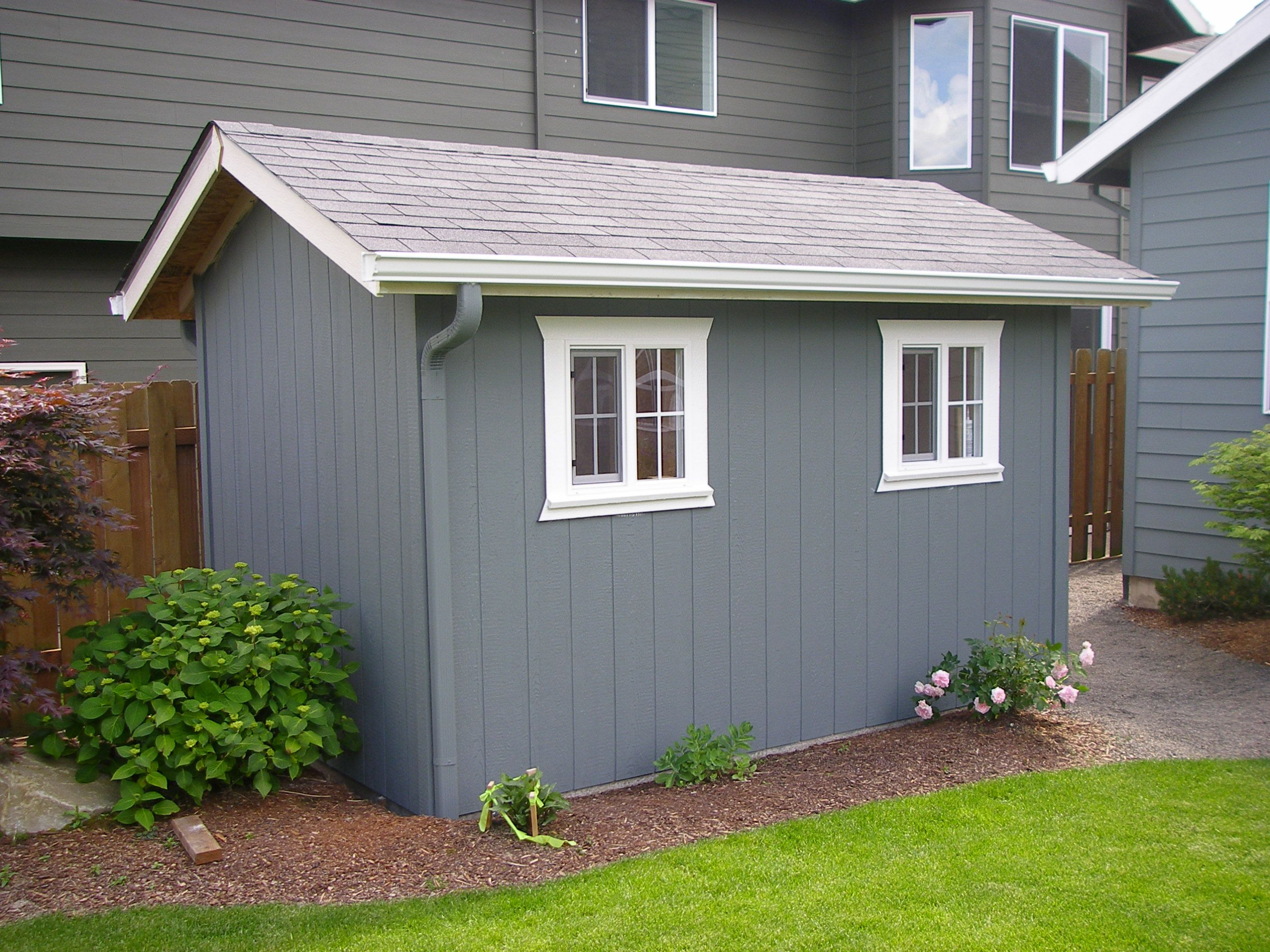 heritage style backyard custom built garden shed mother in law