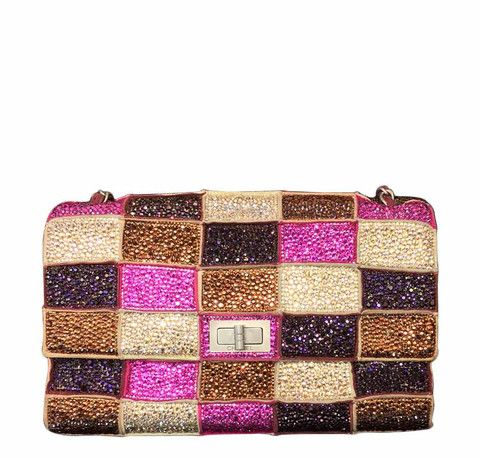 b1708cb48918 Chanel Multicolor Bespoke Bag Swarovski Crystals | Chanel Limited ...