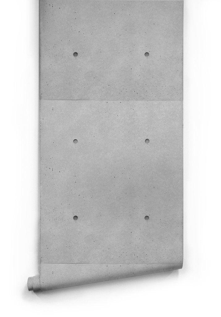 Tilt Slab Boutique Faux Wallpaper Design By Milton King Concrete Wallpaper Faux Concrete Wall Boutique Wallpaper