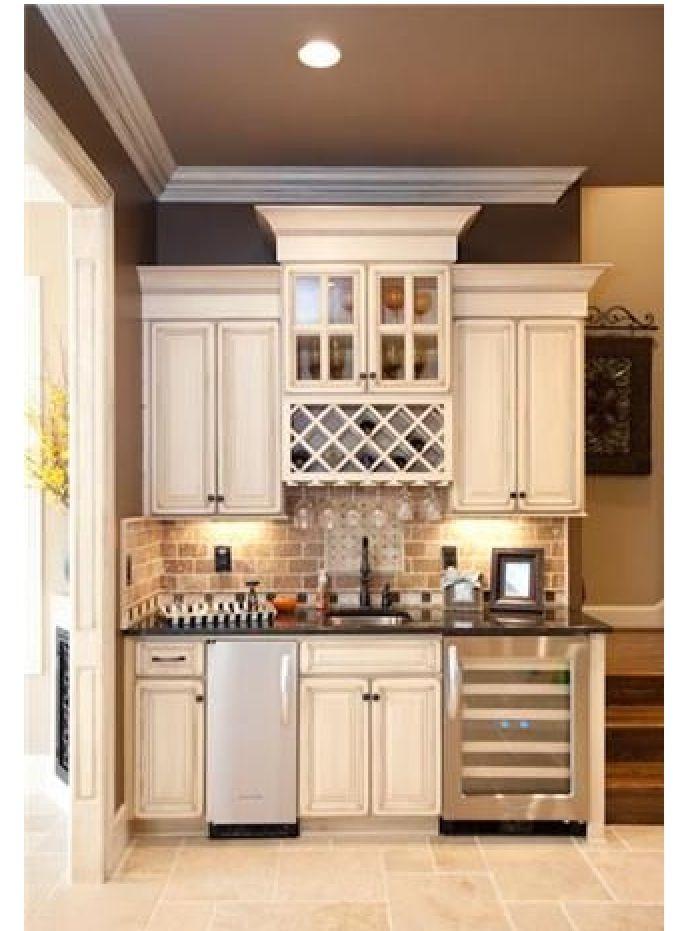 Wet bar, coffee bar, kitchen | House Living | Pinterest | Bar ...