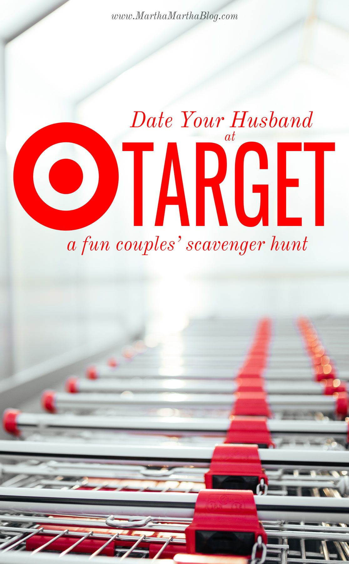Target Date Night Scavenger Hunt   Pinterest   Crafty