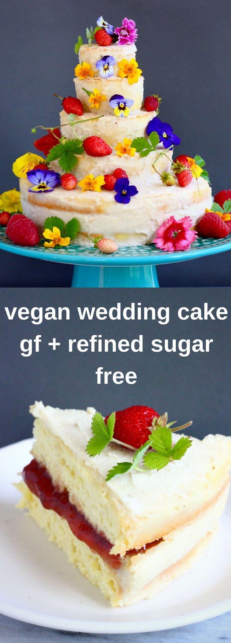 Gluten-Free Vegan Wedding Cake | Recipe | Vegan wedding cakes ...
