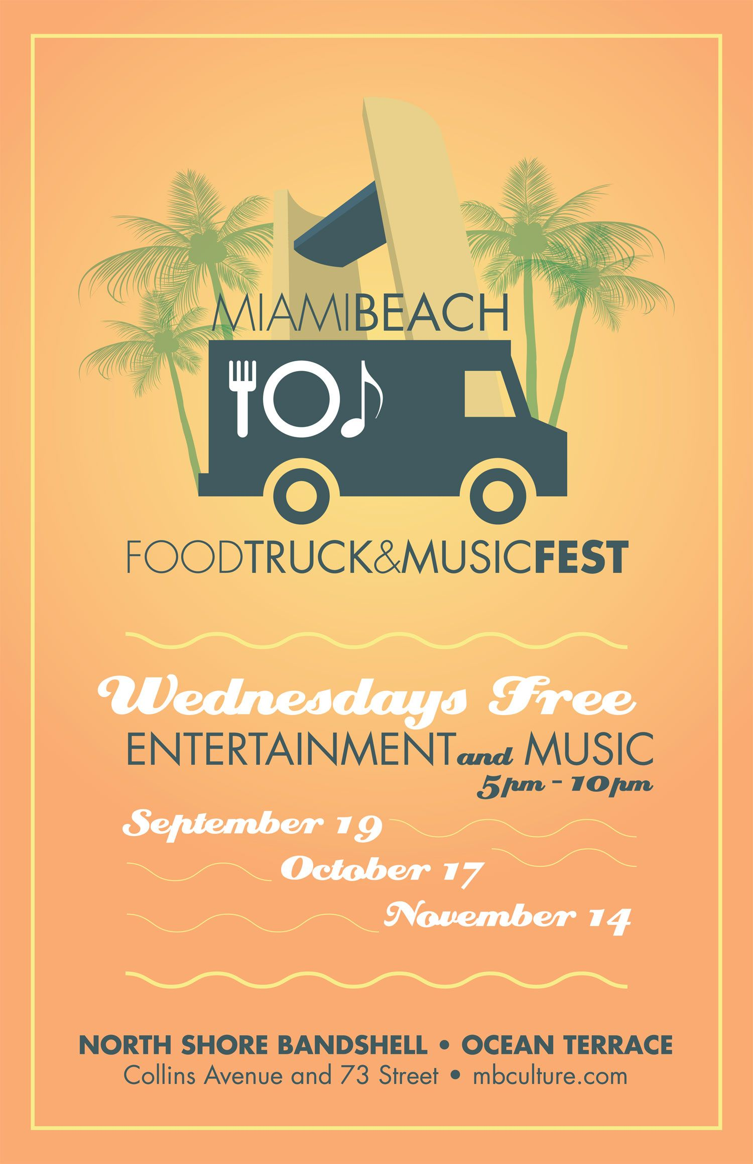 Food truck, Food truck events, Music fest