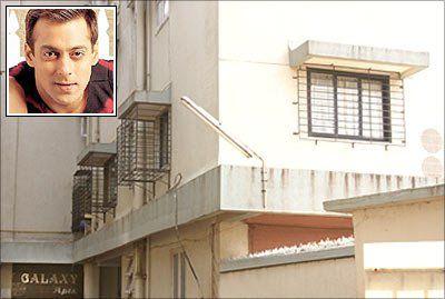 Salman Khan House At Galaxy Apartments On Carter Road Near Bandstand Bandra Mumbai