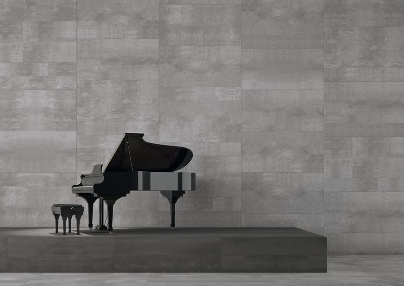 Metropolitan appeal for Edge porcelain stoneware by Keope